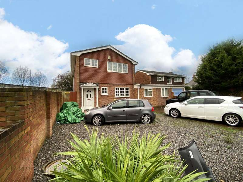 4 Bedrooms Detached House for sale in Old Whitley Wood Lane, Reading, Berkshire, RG2