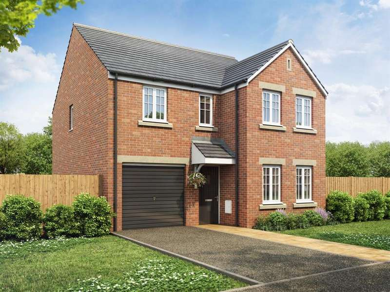 4 Bedrooms House for sale in The Kendal, The Landings, Grantham Road, Waddington, LN5 9RZ