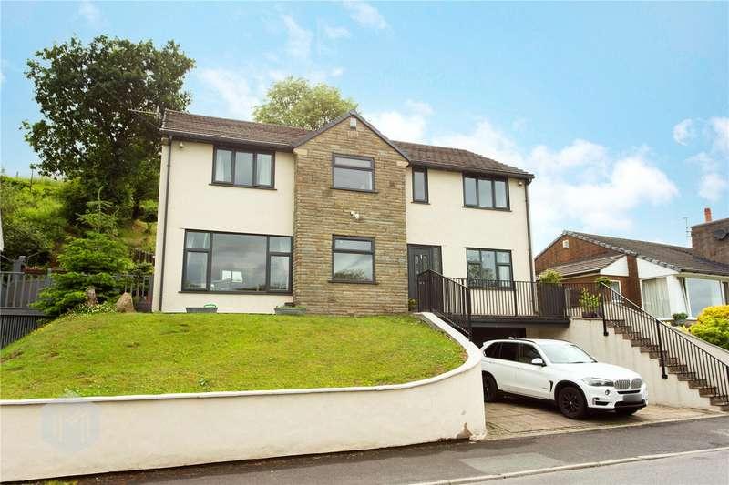 5 Bedrooms Detached House for sale in Rising Bridge Road, Haslingden, Rossendale, BB4