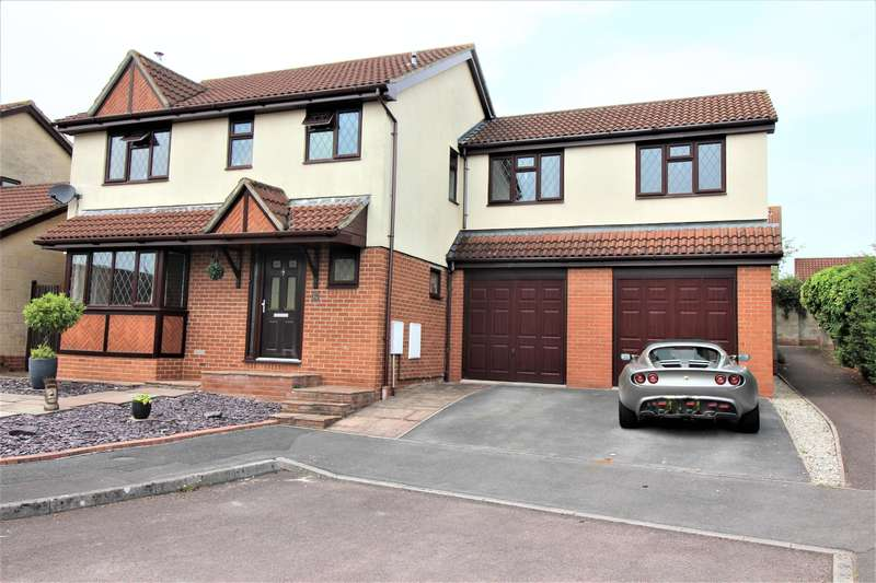 4 Bedrooms Detached House for sale in Sorrel Close, Thornbury, BS35 1UH