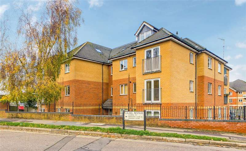 2 Bedrooms Apartment Flat for sale in Craig House, Craig Avenue, Reading, Berkshire, RG30