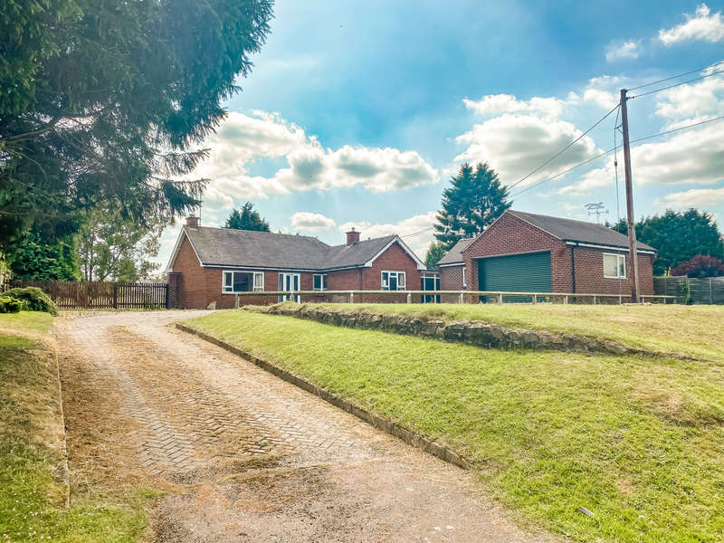 2 Bedrooms Detached Bungalow for sale in Station Road, Broughton Astley, Leicestershire, LE9 6PT