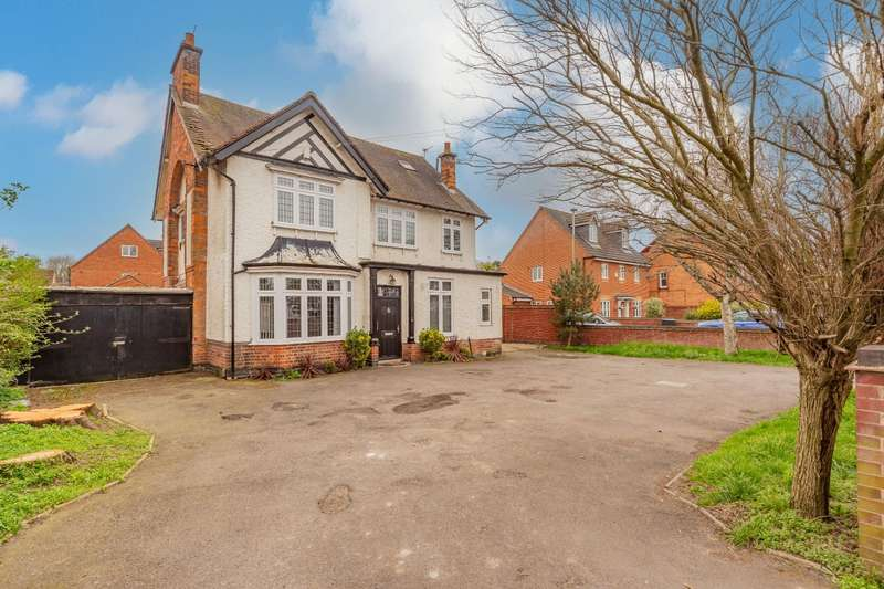4 Bedrooms Detached House for sale in Uppingham Road, Leicester
