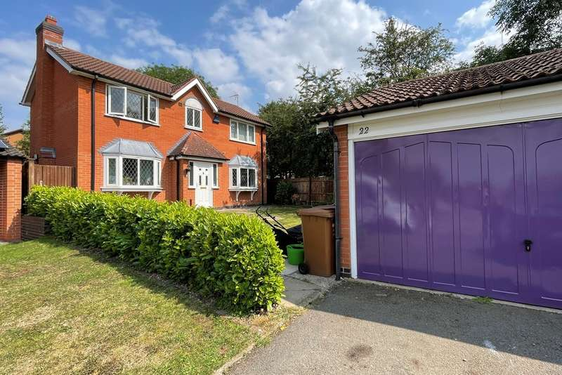 4 Bedrooms Detached House for sale in Dorian Rise, Melton Mowbray