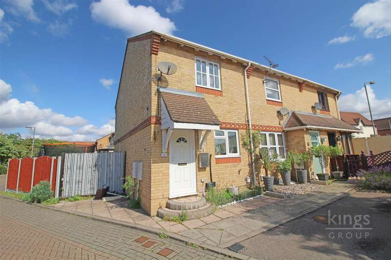 3 Bedrooms End Of Terrace House for sale in Chamberlain Close, Church Langley