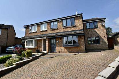 4 Bedrooms Semi Detached House for sale in Poplar Close, Rishton, Blackburn, Lancashire