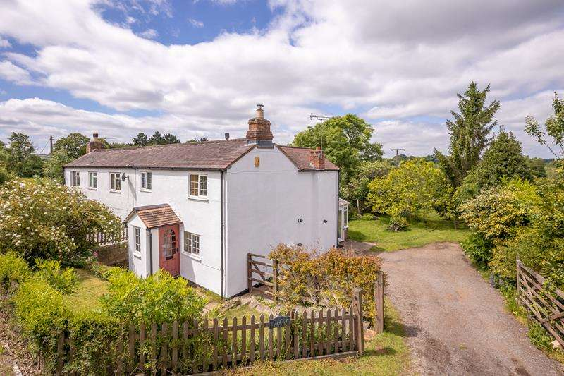 3 Bedrooms Semi Detached House for sale in Blaisdon Cottage, Aston Ingham Road, Kilcot, Newent, Gloucestershire, GL18 1NP