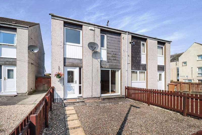 2 Bedrooms Semi Detached House for sale in Strathenry Place, Leslie, Glenrothes, Fife, KY6