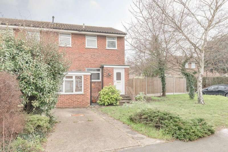 3 Bedrooms End Of Terrace House for sale in Bunces Close, Eton Wick