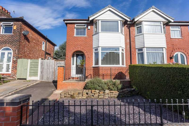 3 Bedrooms Semi Detached House for sale in Agecroft Road East, Prestwich