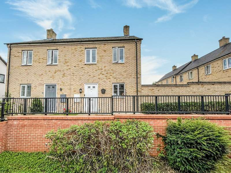 2 Bedrooms Semi Detached House for sale in West End Road, Silsoe, Bedford, MK45
