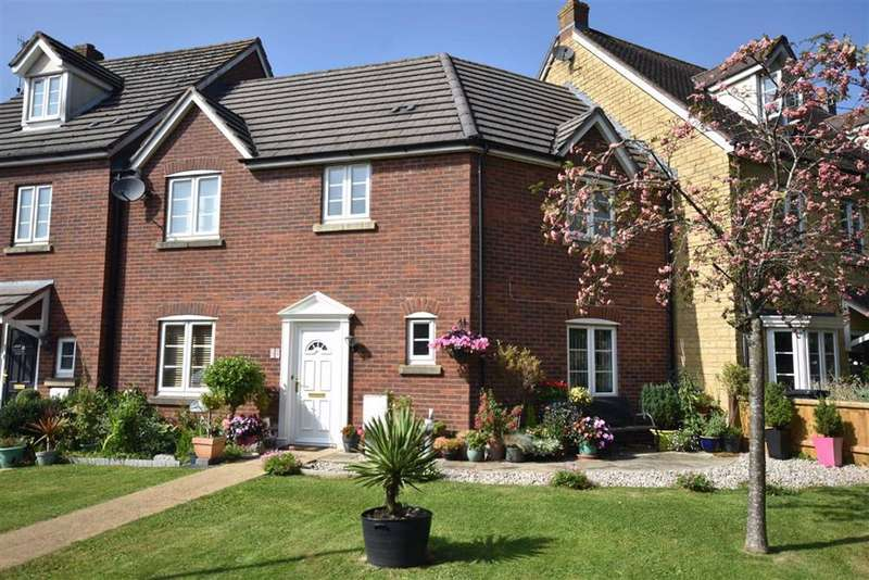 3 Bedrooms Terraced House for sale in Castle Stream Court, Dursley, GL11