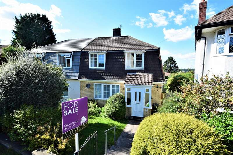 3 Bedrooms Semi Detached House for sale in The Dell, Westbury-on-Trym