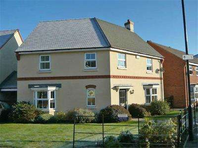 4 Bedrooms Detached House for rent in Longstork Road, Coton Meadows, Rugby