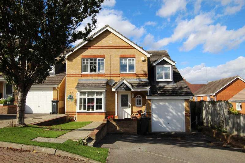 5 Bedrooms Detached House for sale in Tymawr, Caversham, Reading