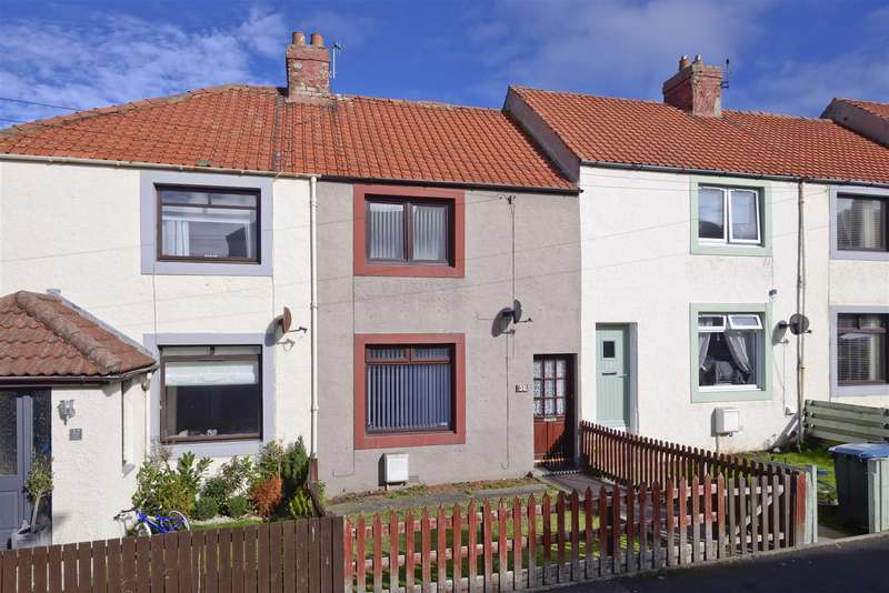 2 Bedrooms Terraced House for sale in 30 Beach Avenue, Eyemouth