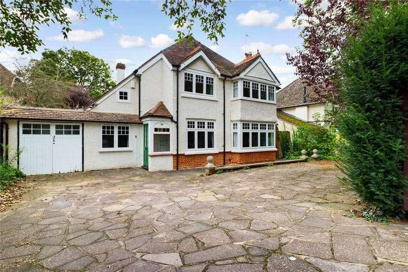 4 Bedrooms Detached House for sale in Oak Tree Road, Tilehurst, Reading, RG31