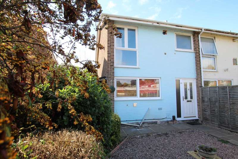 3 Bedrooms Semi Detached House for sale in Lowfield Road, Caversham Park Village, Reading