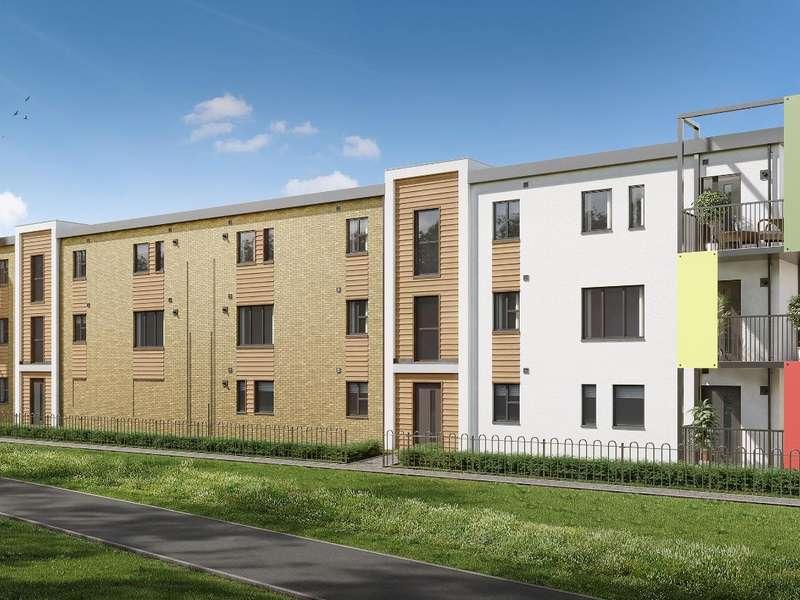 2 Bedrooms Flat for sale in The Aston Block L, Castellum Grange, Mason Road, Colchester, CO1 1XX