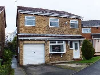 5 Bedrooms Detached House for sale in Hastings Court, Normanton