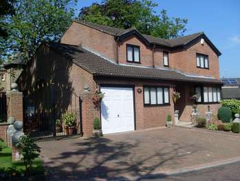 4 Bedrooms Detached House for sale in Chesmore Lodge, Howden le Wear