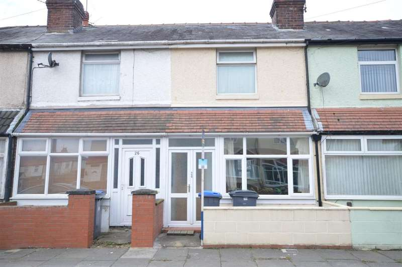 2 Bedrooms Terraced House for sale in Harold Avenue, Blackpool