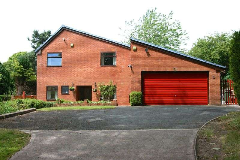 4 Bedrooms Detached House for sale in Gabriel Close, Wrexham