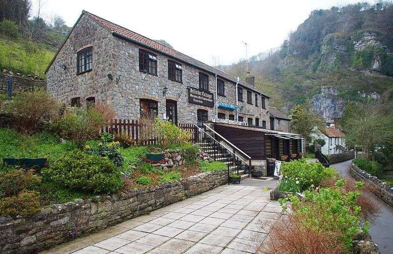 4 Bedrooms Detached House for sale in Quintessential English Tearooms, Cheddar Gorge