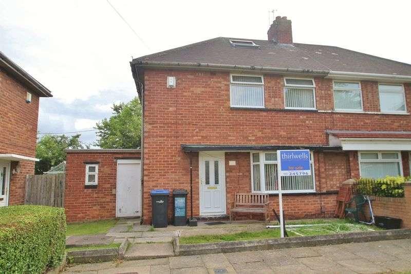 2 Bedrooms Semi Detached House for sale in Ingram Road, Berwick Hills