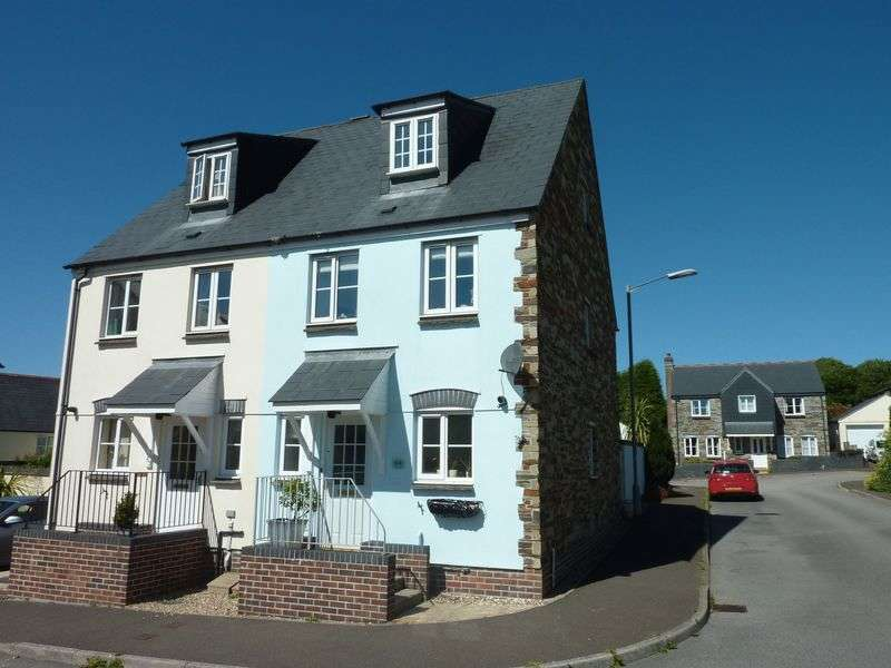 3 Bedrooms Semi Detached House for sale in Kestell Parc, Bodmin