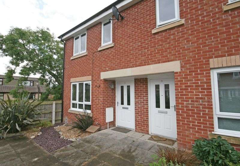 2 Bedrooms Terraced House for sale in Crooklands Gardens, Hambleton