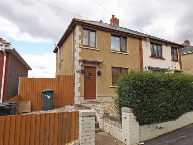2 Bedrooms Semi Detached House for sale in Ivy Avenue, Neath, West Glamorgan