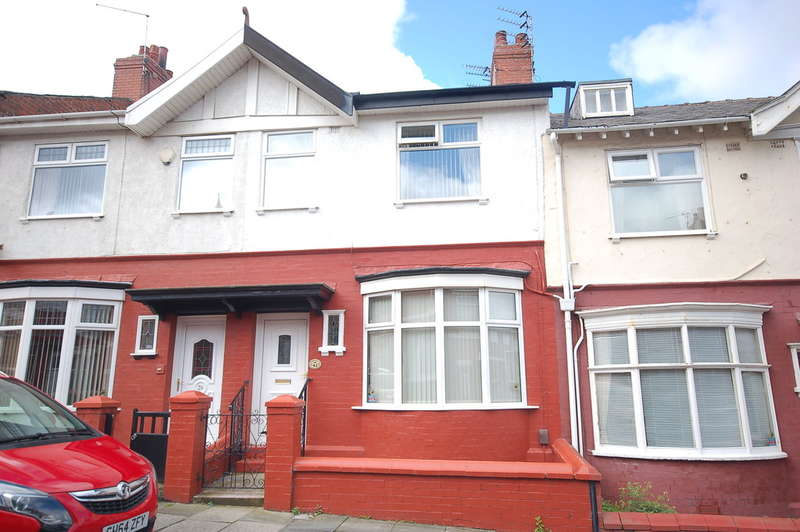 3 Bedrooms Terraced House for sale in Ormond Avenue, Blackpool