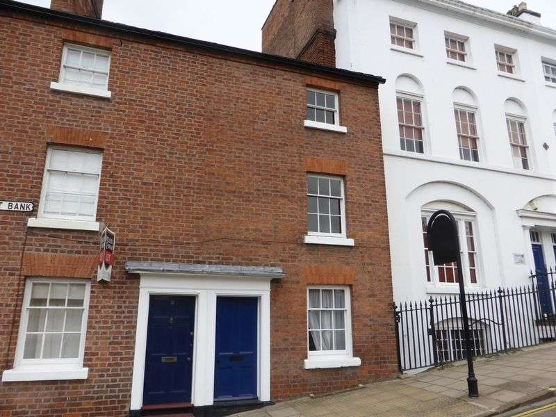 3 Bedrooms Terraced House for sale in Claremont Bank, Shrewsbury