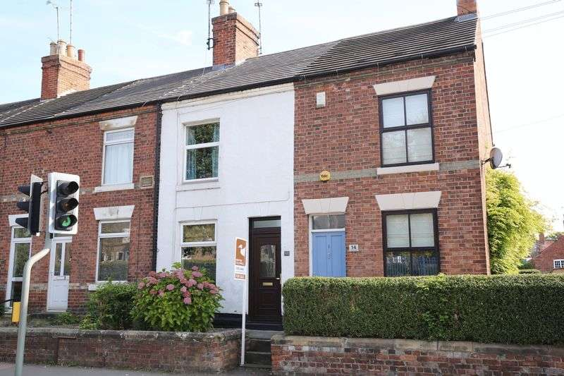 2 Bedrooms Terraced House for sale in Derby Road, Ashby-De-La-Zouch, Leicestershire LE65 2HE