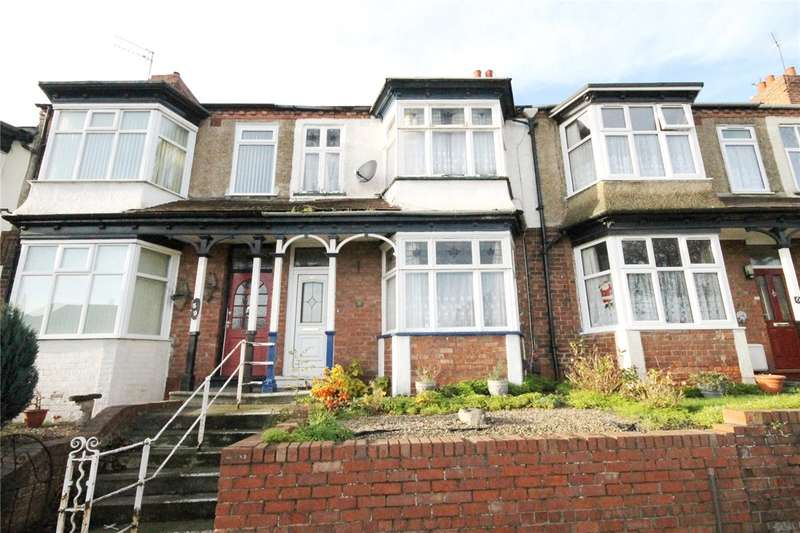 3 Bedrooms Terraced House for sale in West Auckland Road, Darlington, Co Durham, DL3
