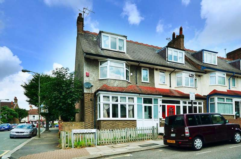 4 Bedrooms End Of Terrace House for sale in Hillbrook Road, Tooting, SW17