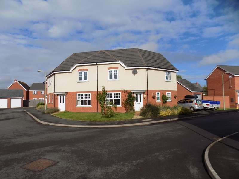 3 Bedrooms Semi Detached House for sale in Harris Croft, Shrewsbury, Shropshire, SY4