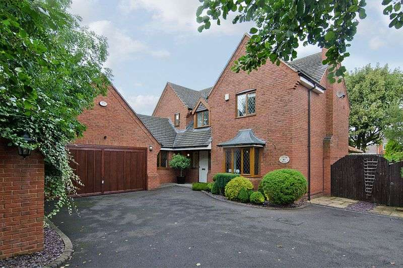4 Bedrooms Detached House for sale in Highfields Road, Chasetown, Burntwood