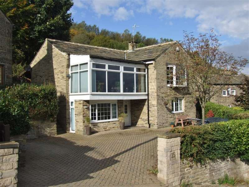 4 Bedrooms Detached House for sale in Lee Lane, Shibden, Halifax, HX3 6UJ