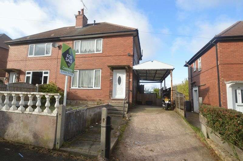 3 Bedrooms Semi Detached House for sale in Hill Crest, Shirebrook