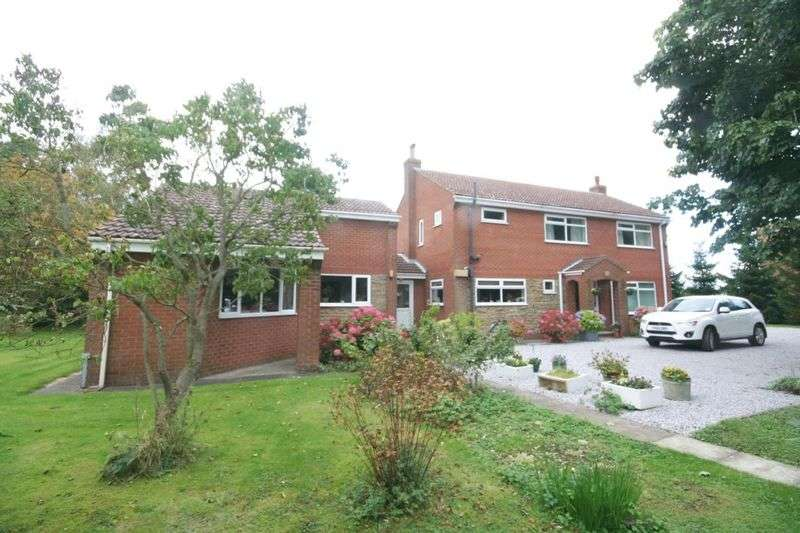 4 Bedrooms Detached House for sale in New Village Road, Little Weighton