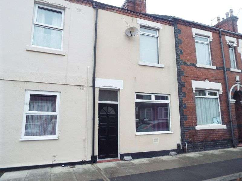 2 Bedrooms Terraced House for sale in Boughey Road Shelton, Stoke-On-Trent