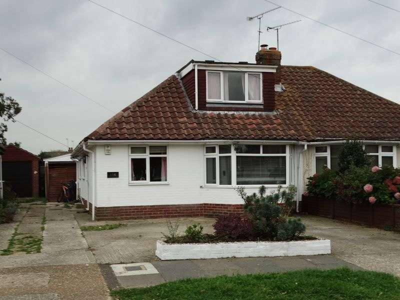 4 Bedrooms Semi Detached Bungalow for sale in Manning Road, Littlehampton