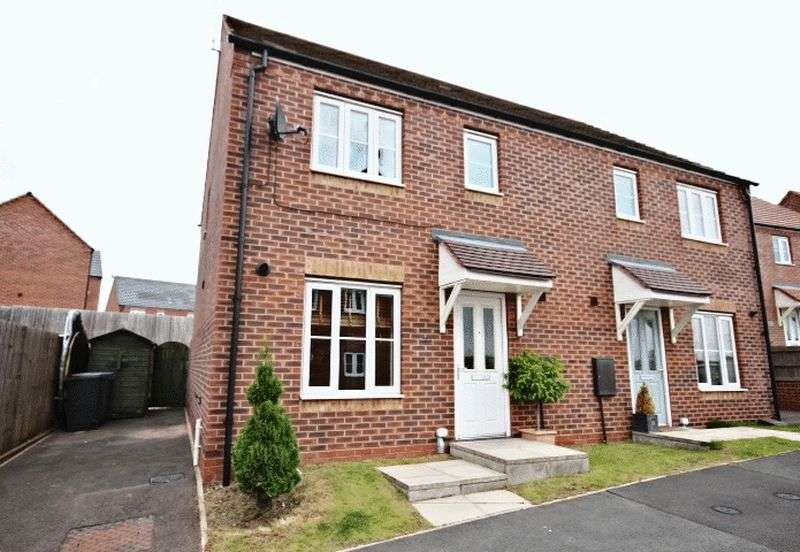 3 Bedrooms Semi Detached House for sale in Burtree Drive, Stoke-On-Trent