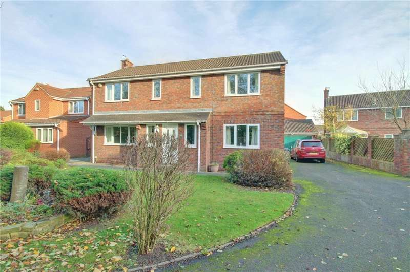 4 Bedrooms Detached House for sale in Dickens Wynd, Merryoaks, Durham, DH1