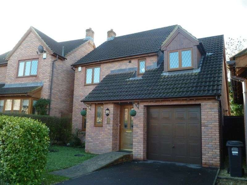 4 Bedrooms Detached House for sale in Buttercup Crescent, Wick St Lawrence