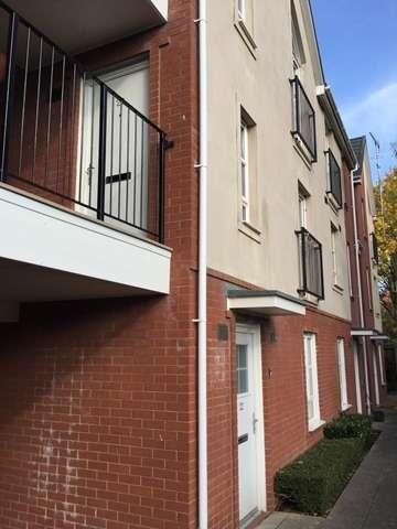 1 Bedroom Ground Flat for sale in Ground Floor Flat For Sale, Heathlands Grange, Stapenhill