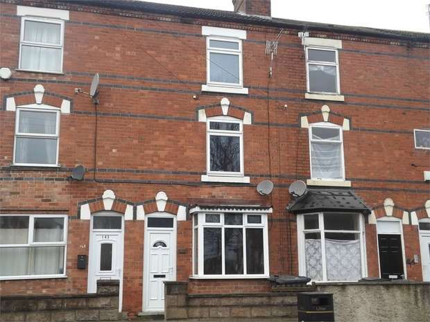 3 Bedrooms Town House for sale in Cotmanhay Road, Ilkeston, Derbyshire