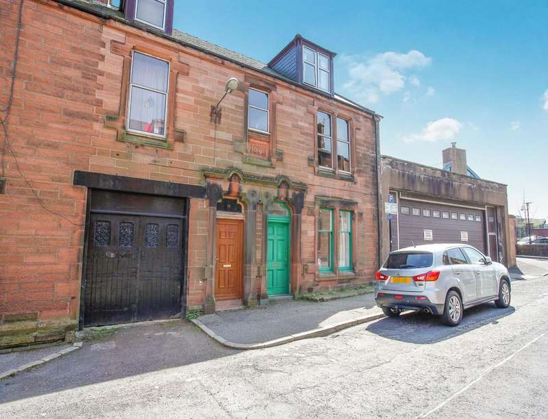2 Bedrooms Flat for sale in Rae Street, Dumfries, DG1